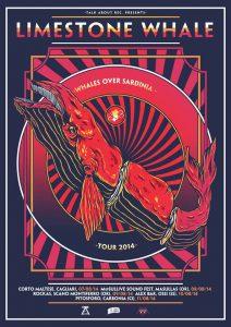 LIMESTONE WHALE | WHALES OVER SARDINIA TOUR 2014