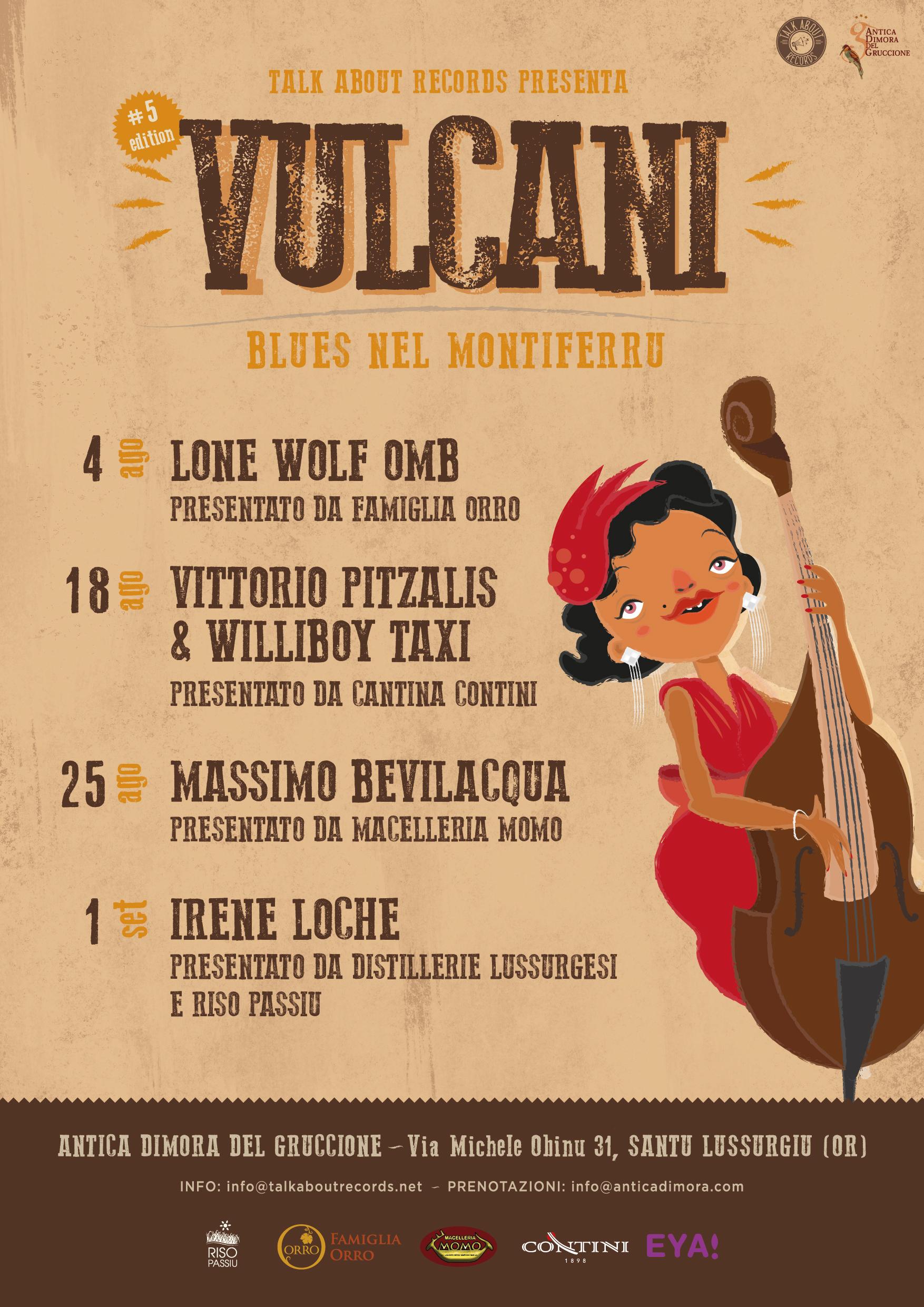 poster vulcani 2018
